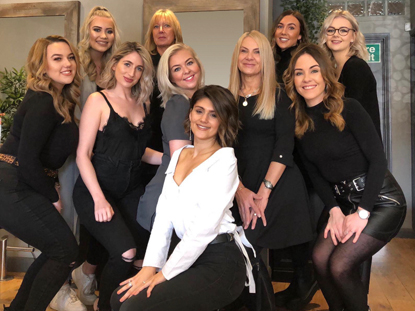 Stones Hair and Beauty Salon Team